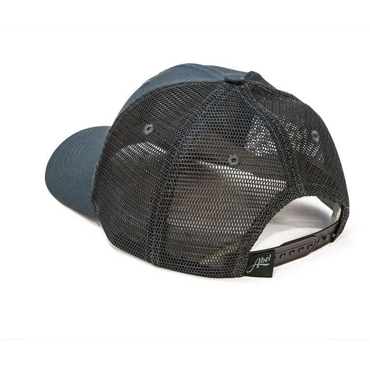 Fish Tail Trucker Hat - Slate Back
