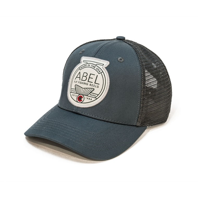 Fish Tail Trucker Hat - Slate Front