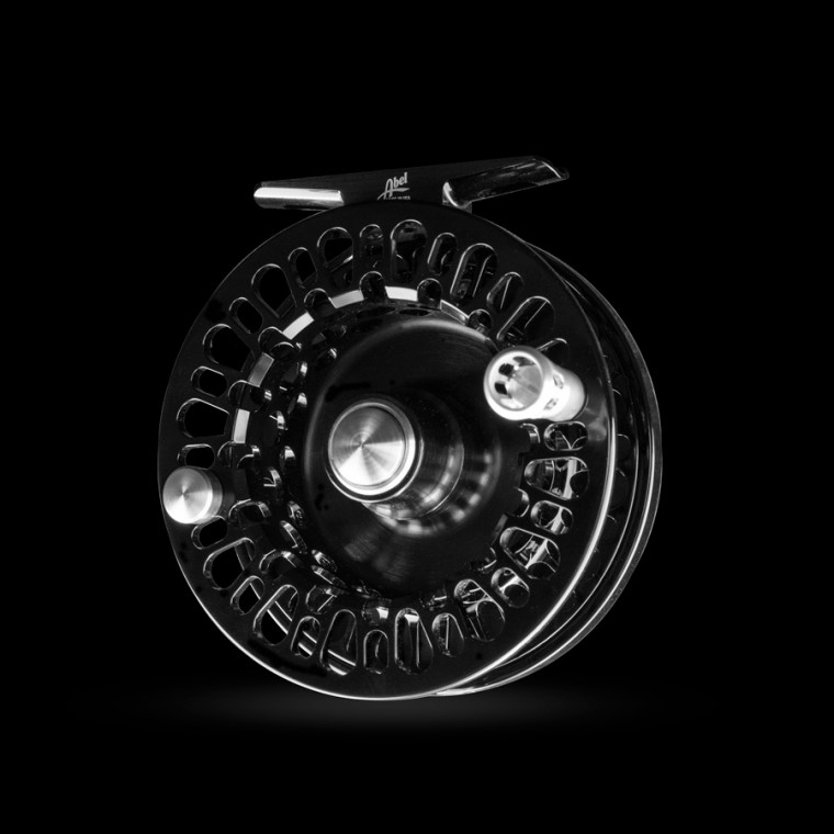 Johnny Cash Fly Reel Spool Angled