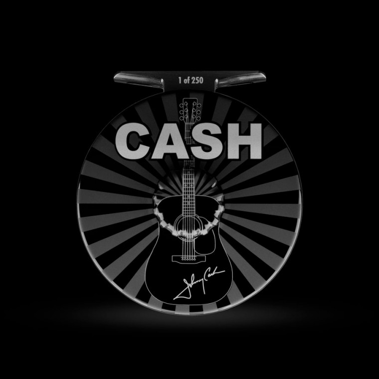 Johnny Cash Fly Reel