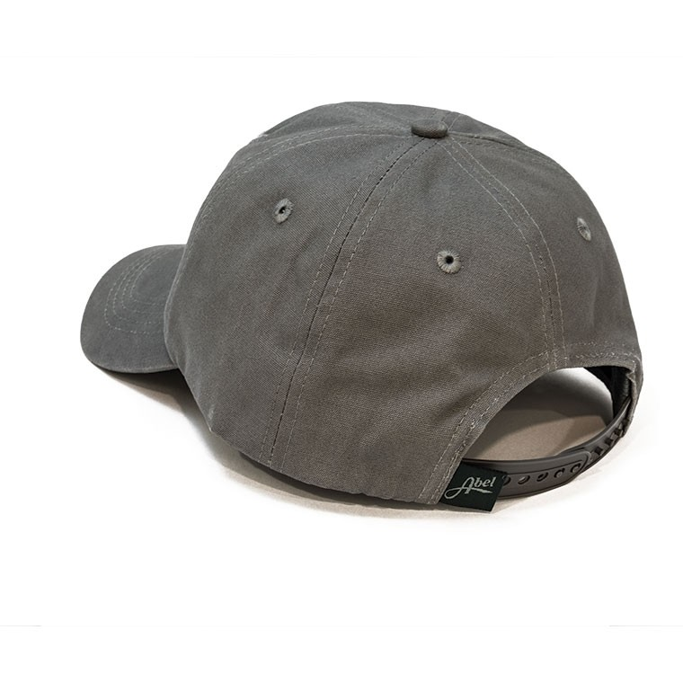 Fish Tail Cotton Canvas Hat - Grey