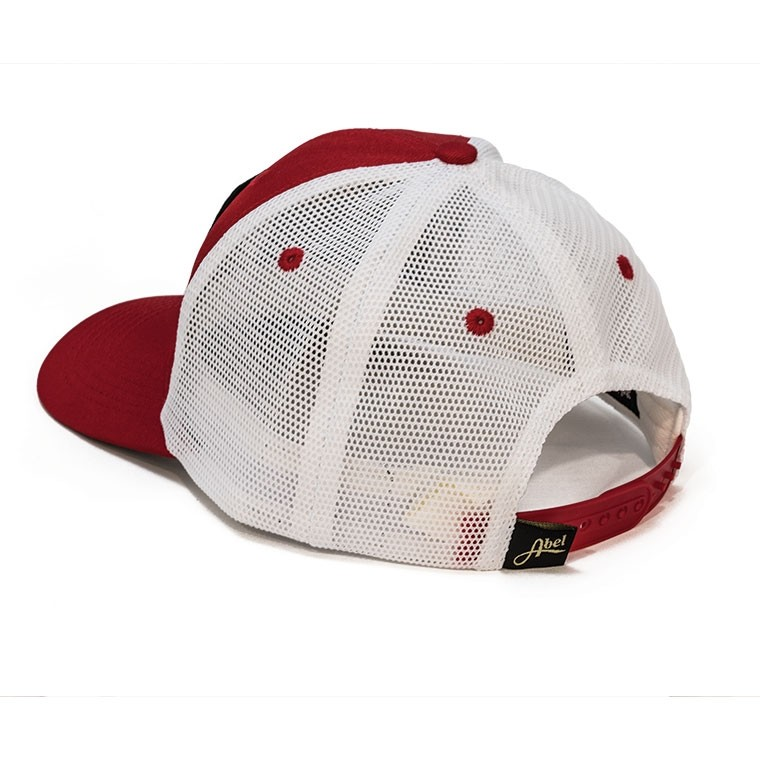 Retro Patch Trucker Hat - Red Back